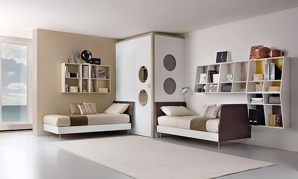 Tend ncias de quartos para 2 pessoas design innova for Unisex bedroom designs