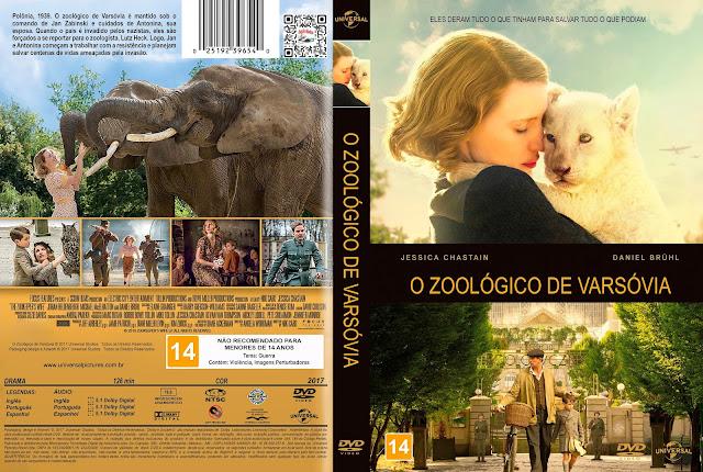 Capa DVD O Zoológico de Varsóvia [Custom]