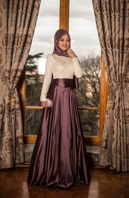 Robe-hijab-fashion-plissée