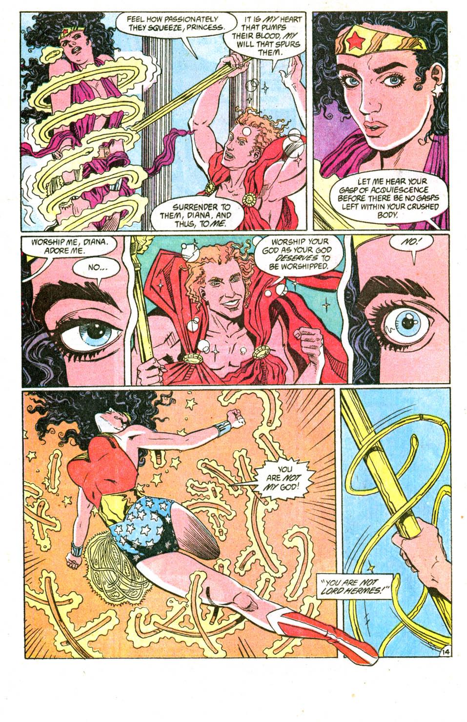 Read online Wonder Woman (1987) comic -  Issue #51 - 16