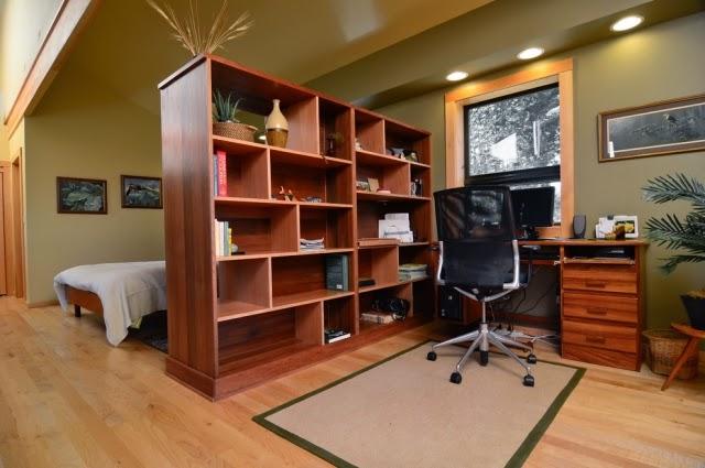 dividir dormitorio de oficina