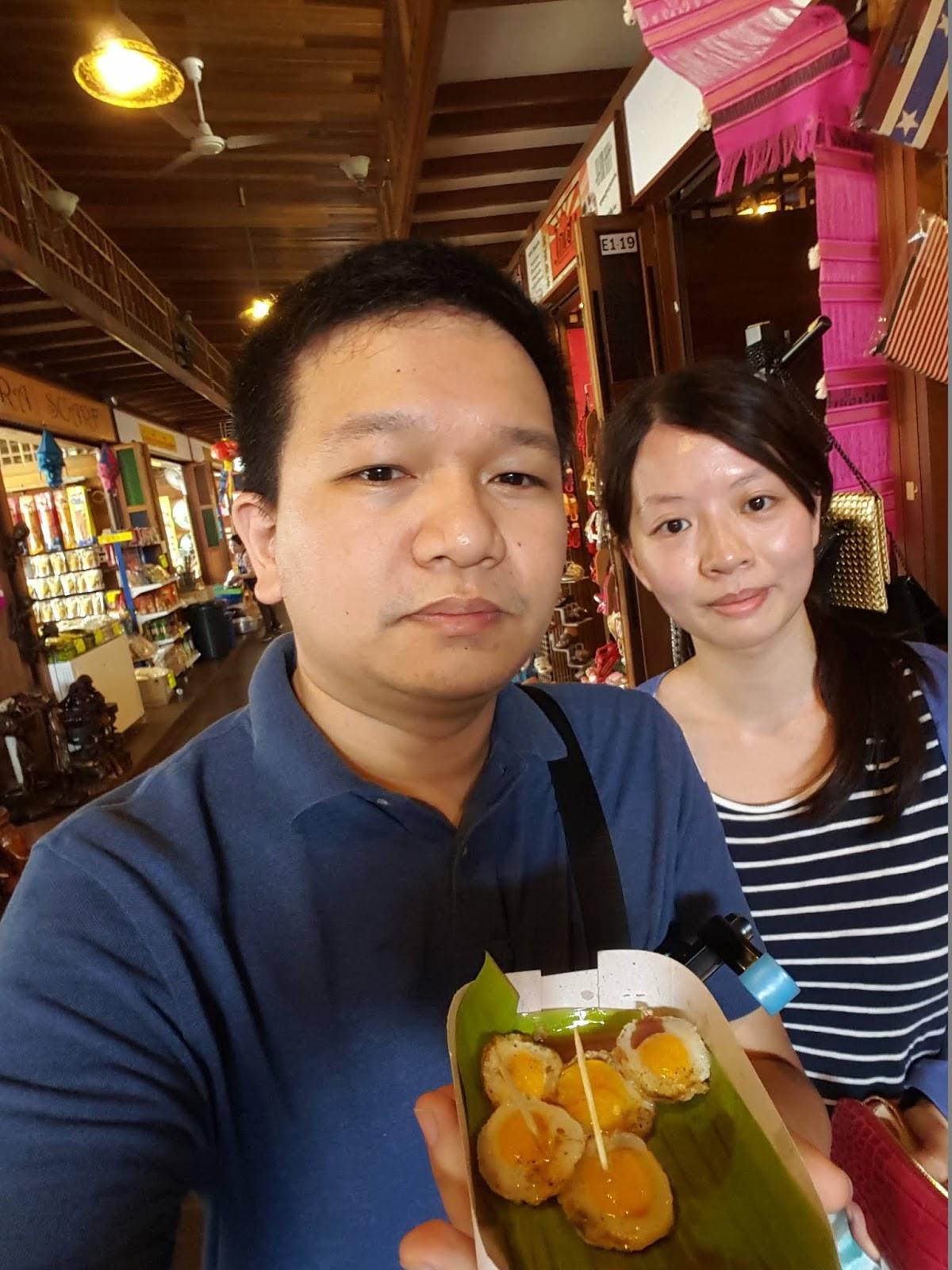 泰國四方水上市場-椰子糕