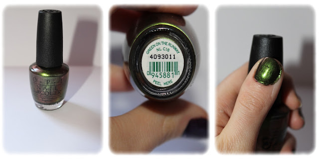 Swatch Vernis à Ongles Teinte Green on the Runaway - OPI