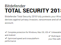 Bitdefender Total Security 2018 - Softpedia, Filehorse, FileHippo