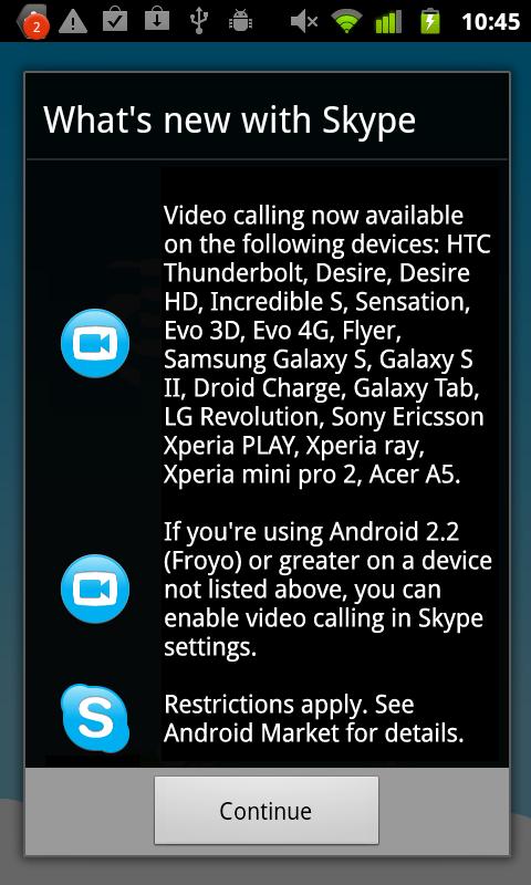 motodev studio for android 2.2 skype