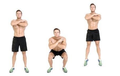 Gerakan Squat Jump