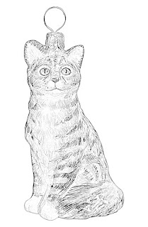 Christmas Tree Ornaments coloring pages holiday.filminspector.com
