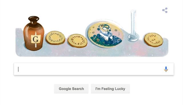 Google Doodle honors microbiologist - USA