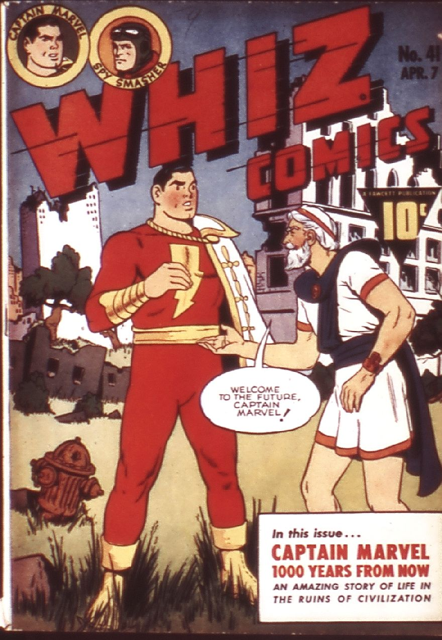 WHIZ Comics 41 Page 1