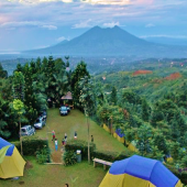 kampung-awan, camping-di-puncak, kemping-puncak