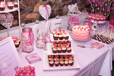 Candy Bar Wedding Pink