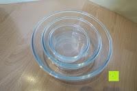 stapeln: Tefal 207370 Vorratsgläser, Glas, transparent, 3 Einheiten
