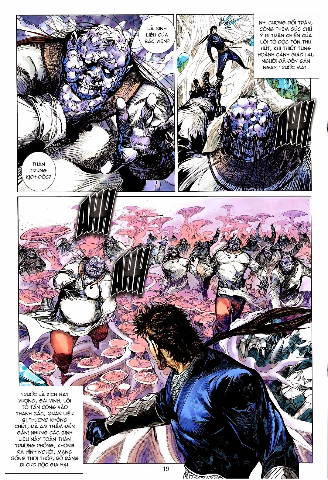 Thiết Tướng Tung Hoành – Chap 120