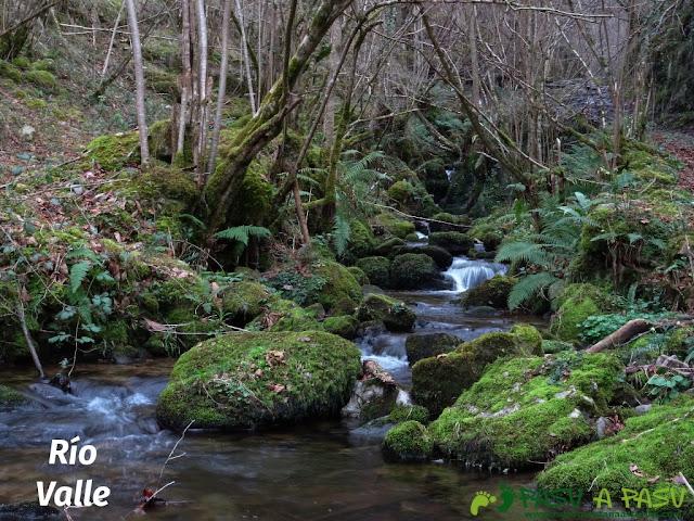 Senda del Chorrón y Foz del Río Valle