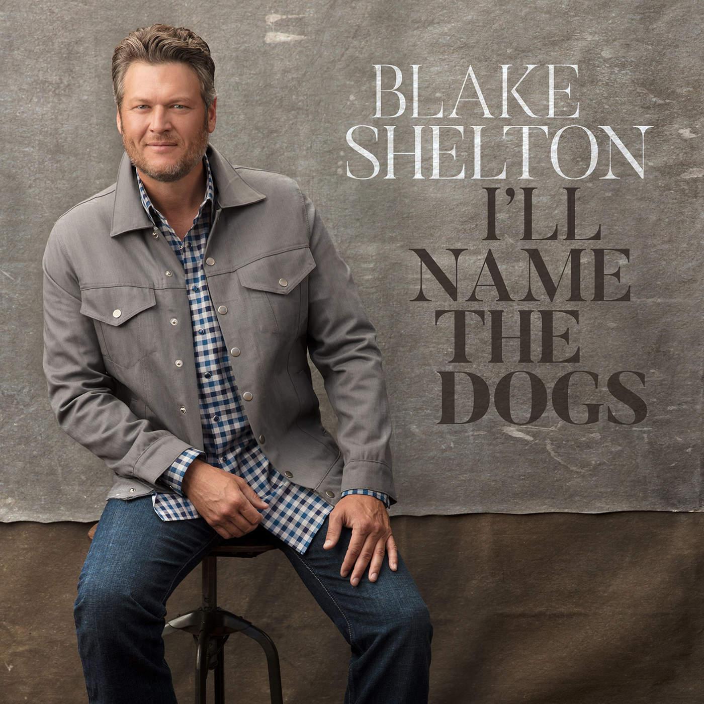 Blake Shelton - I'll Name the Dogs - Single