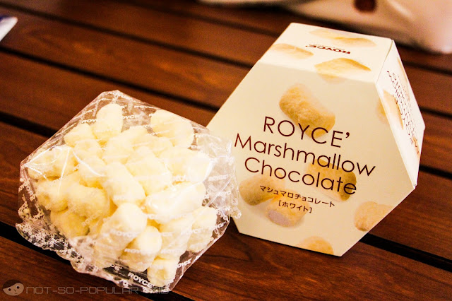 Royce's Marshmallow Chocolate - White