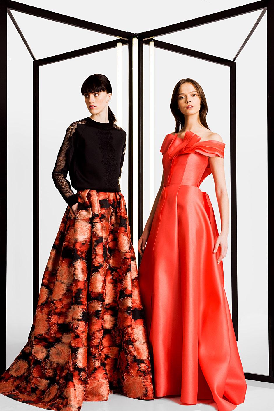 As propostas de Carolina Herrera para a coleção Pre-fall 2016 primam pela  elegância feminina expressa em silhuetas sofisticadas. 44b64630a5