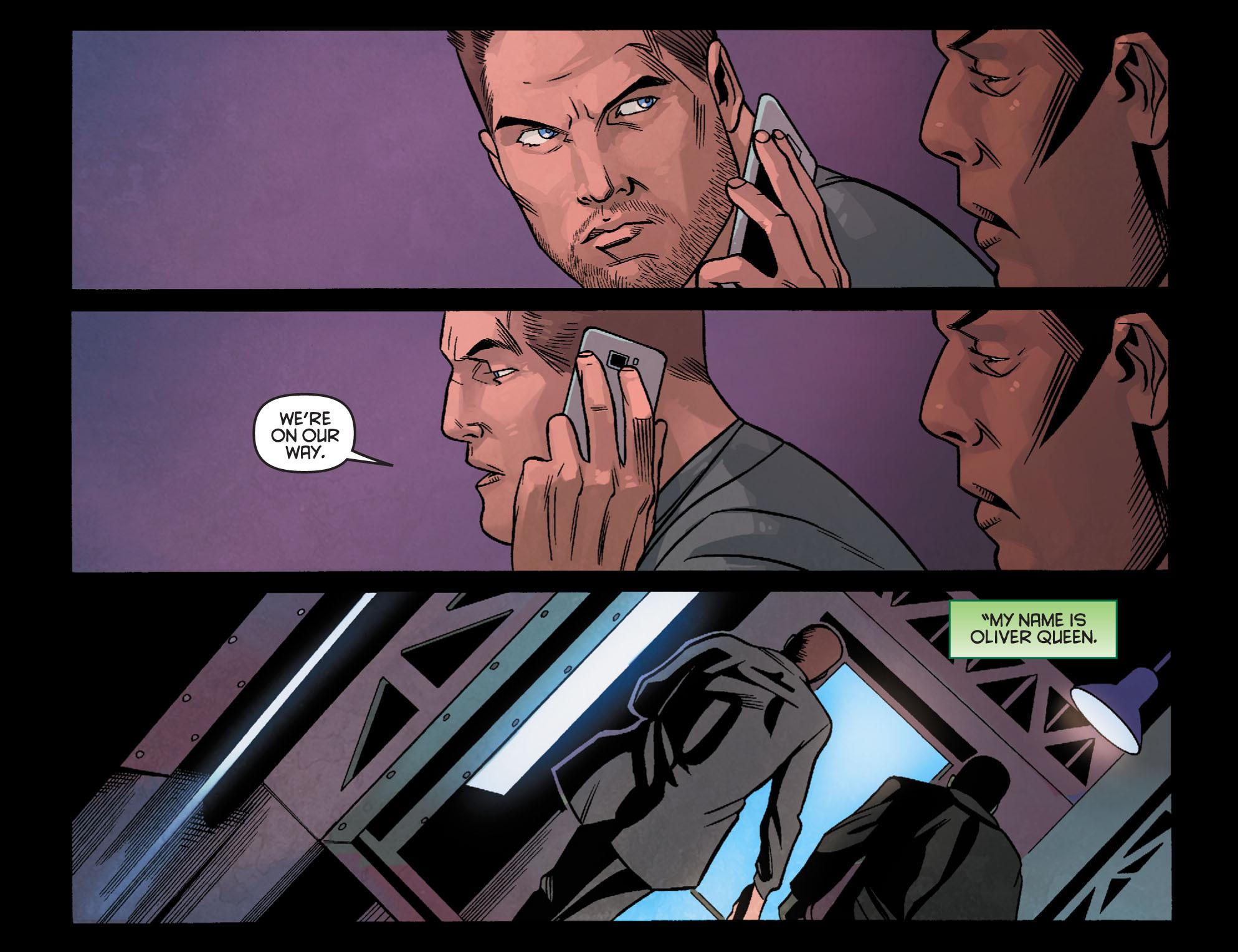 Read online Arrow: Season 2.5 [I] comic -  Issue #24 - 18