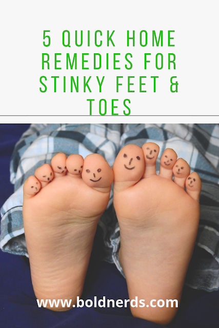 5 Quick Home Remedies for Stinky Feet & Toes