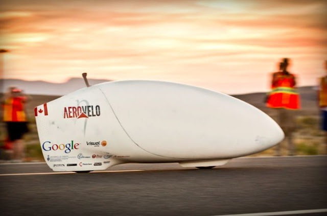 "With ""only"" 137.9 km / h, this is the human drive vehicle faster the planet"
