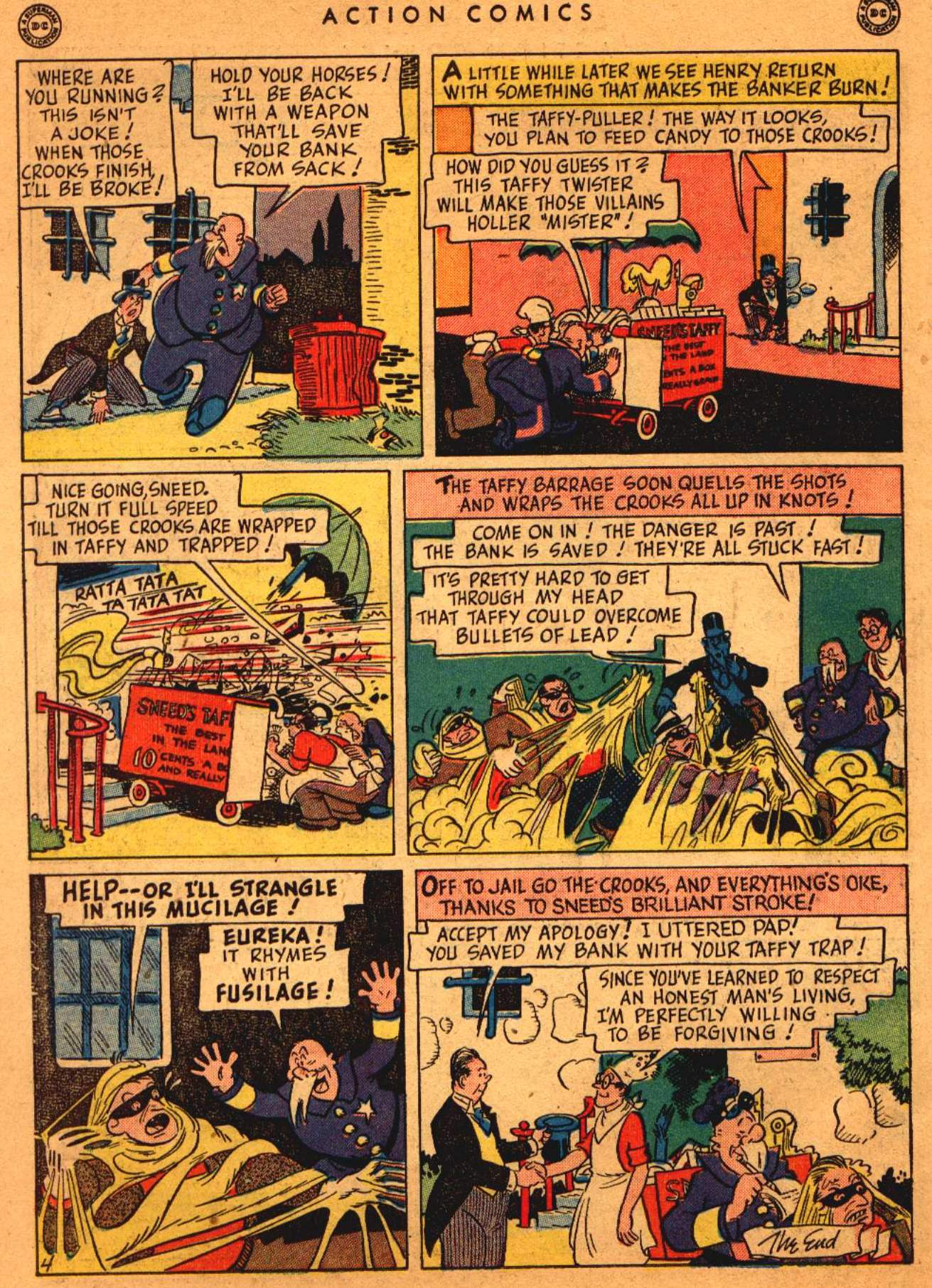 Read online Action Comics (1938) comic -  Issue #108 - 35