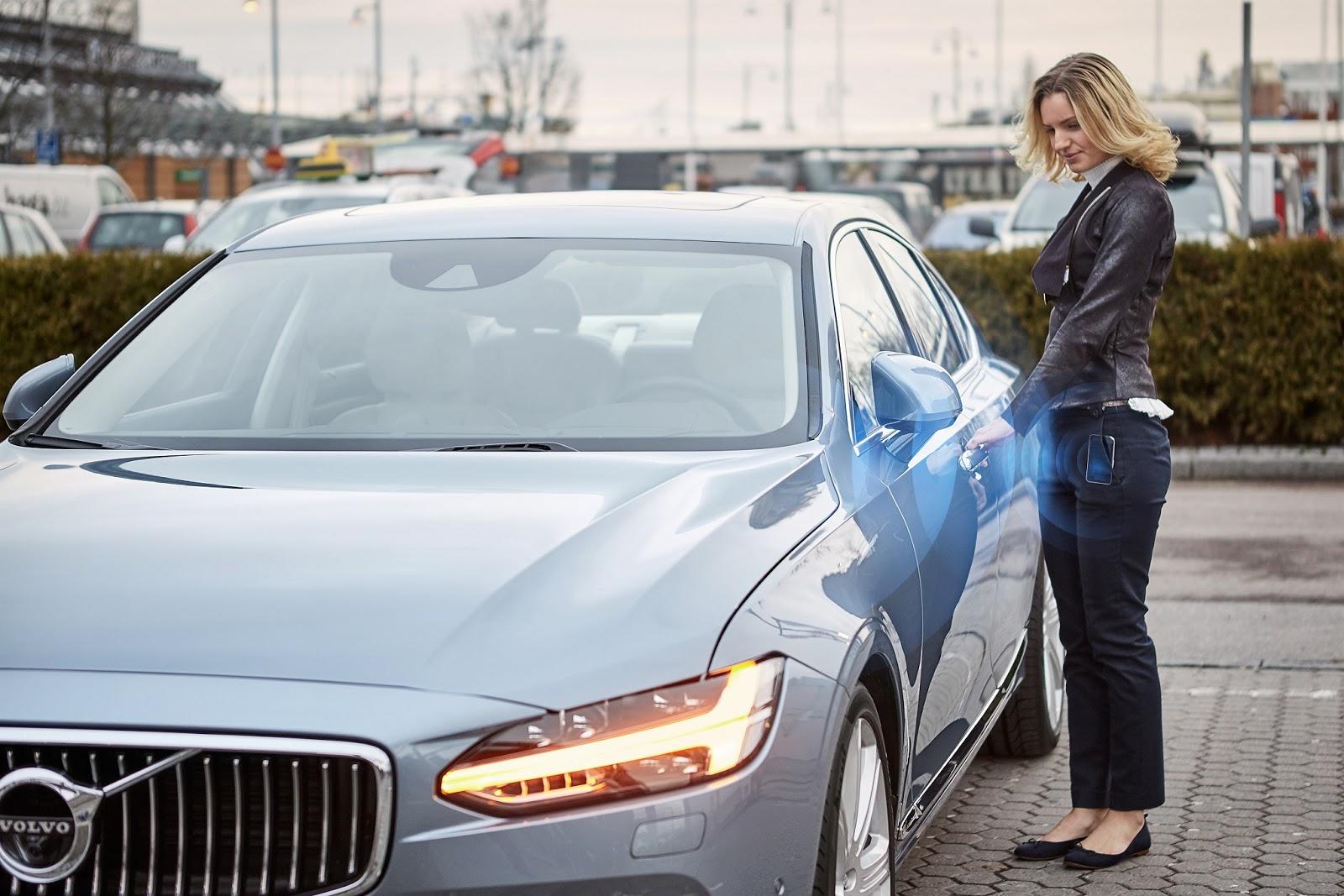 VOLVO%2BDIGITAL%2BCAR%2BKEY%2B3 Απο το 2017 η Volvo θα αντικαταστήσει το κλειδί με μια εφαρμογή στο κινητό