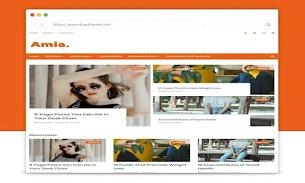 Amia Responsive Blogger Template - Responsive Blogger Template