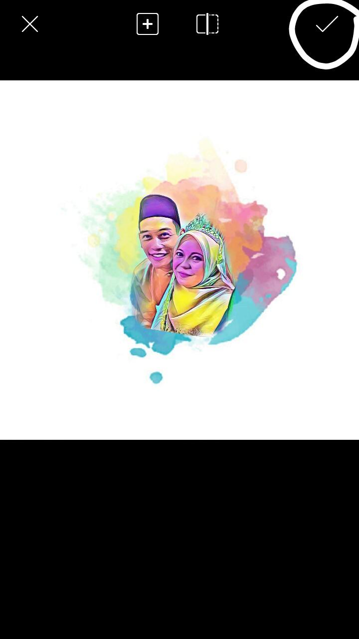 Cara Edit Gambar Pelangi Guna Picsart Izzati Suhaide