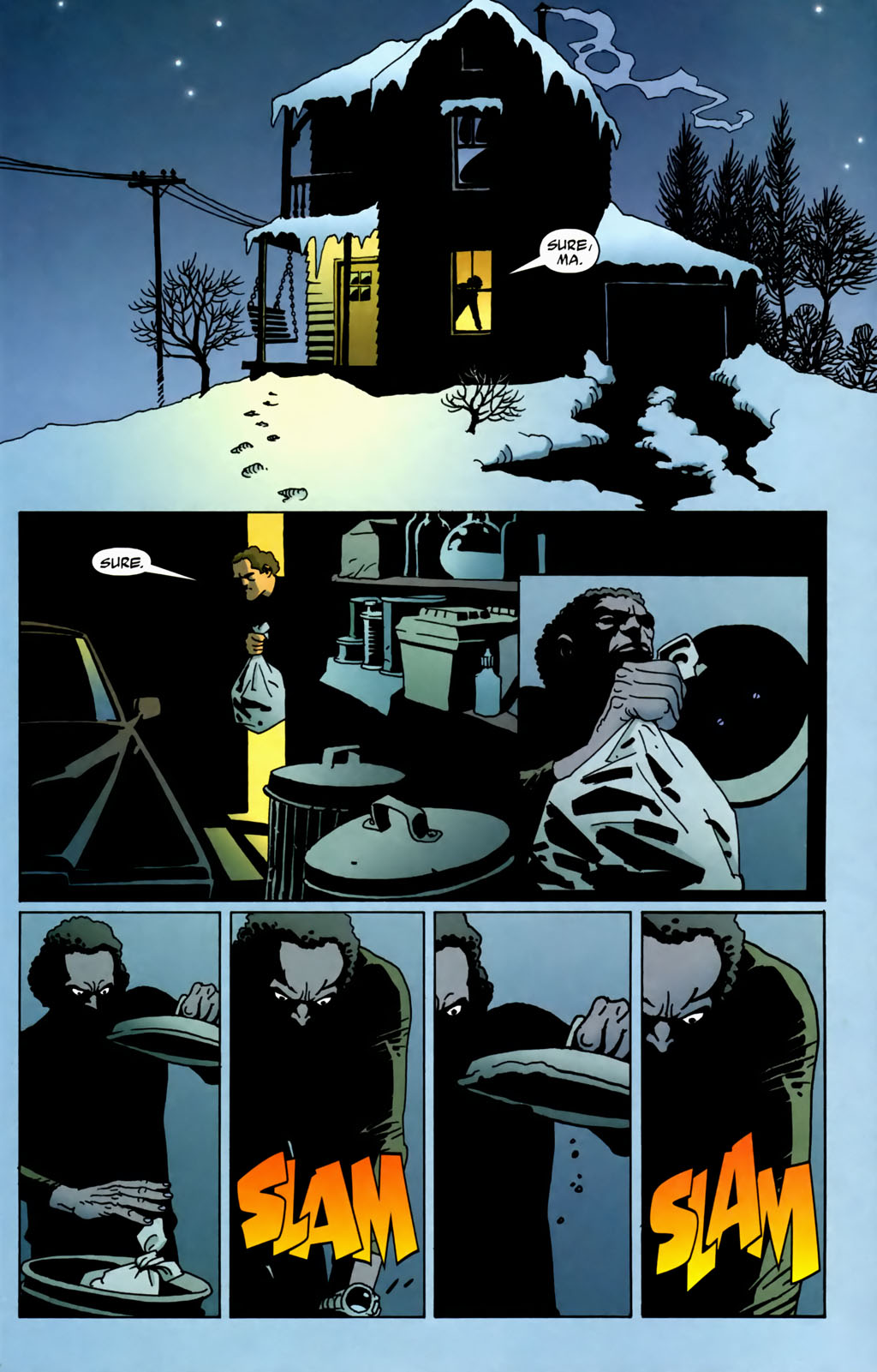 Read online 100 Bullets comic -  Issue #70 - 22