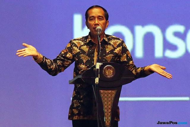 Jelaskan soal Rokan Hingga Freeport, Jokowi: Gimana Bisa Antek Asing?