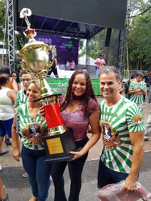 Canto da Alvorada é a escola de samba  campeã de BH 2018