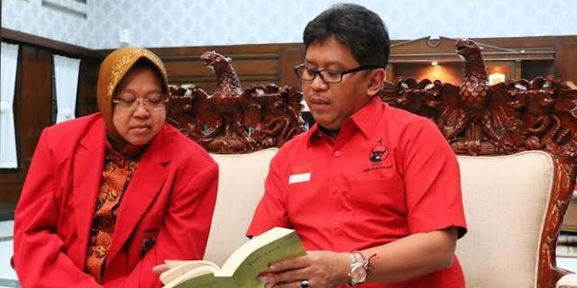 PDIP Surabaya minta Risma tak terpengaruh isu Pilgub DKI