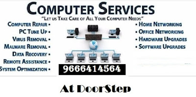 computer, laptop service repair at doorstep hyderabad