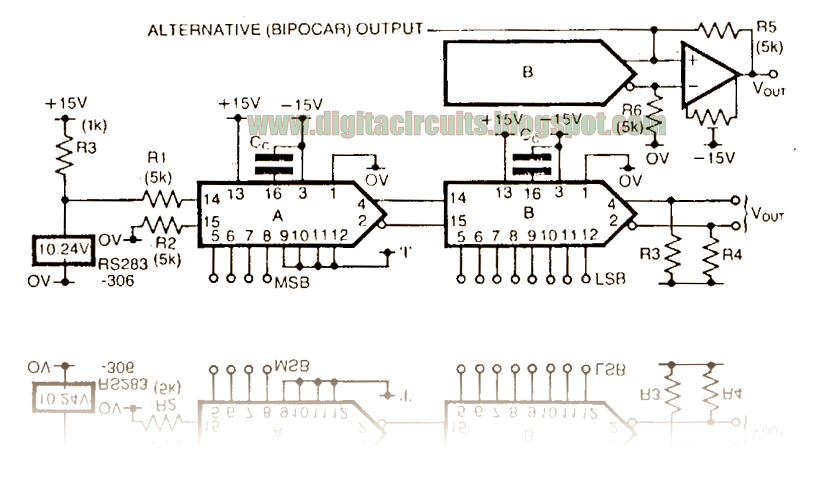 on dac schematic