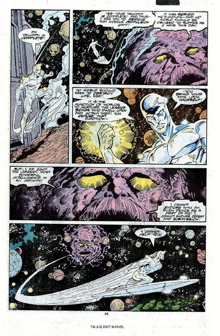 Read online Silver Surfer (1987) comic -  Issue #22 - 31