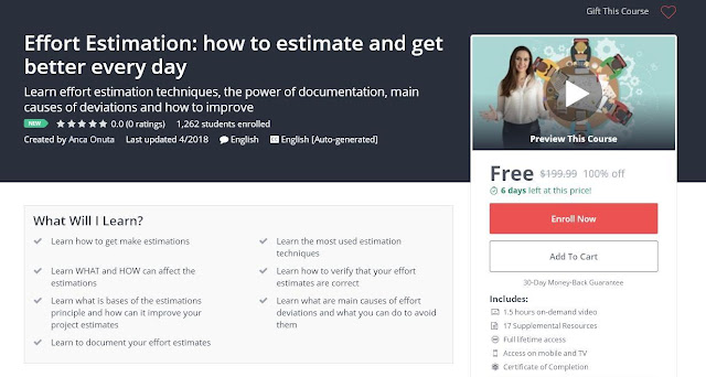 Effort Estimation: how to estimate and get better every day