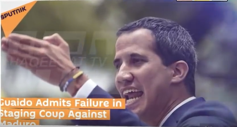 Juan Guaido's Say he overestimated the military suppot