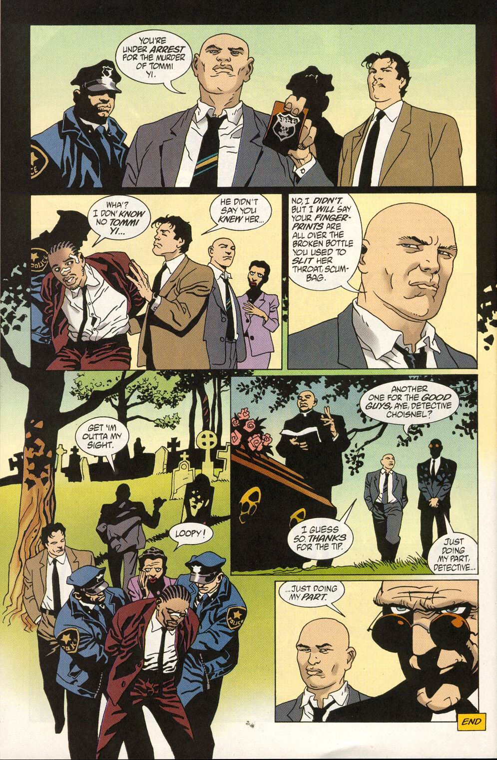 Read online 100 Bullets comic -  Issue #19 - 24