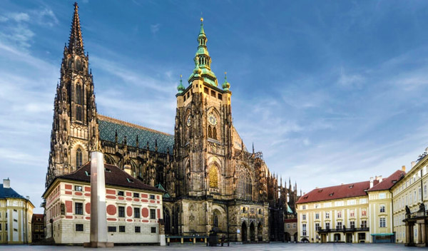 Prague Castle family holiday