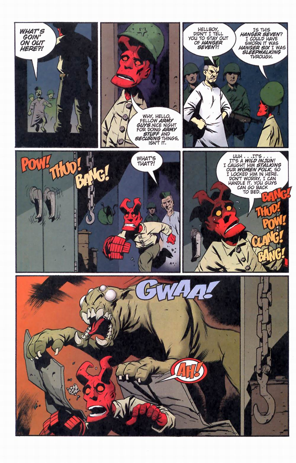 Read online Hellboy: Weird Tales comic -  Issue #2 - 28