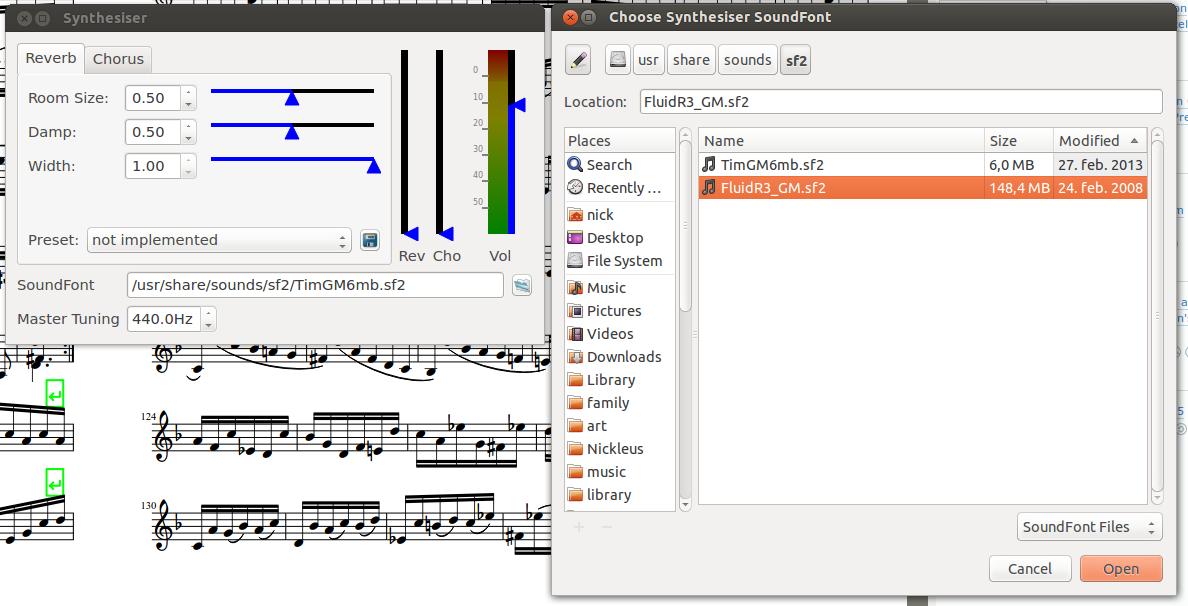 Nickleus Music Technology Blog: Ubuntu music notation software