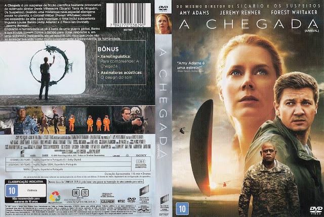 Capa DVD A Chegada
