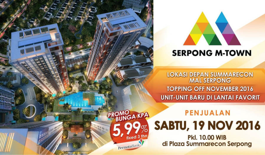 Launching Serpong M-Town Summarecon Serpong