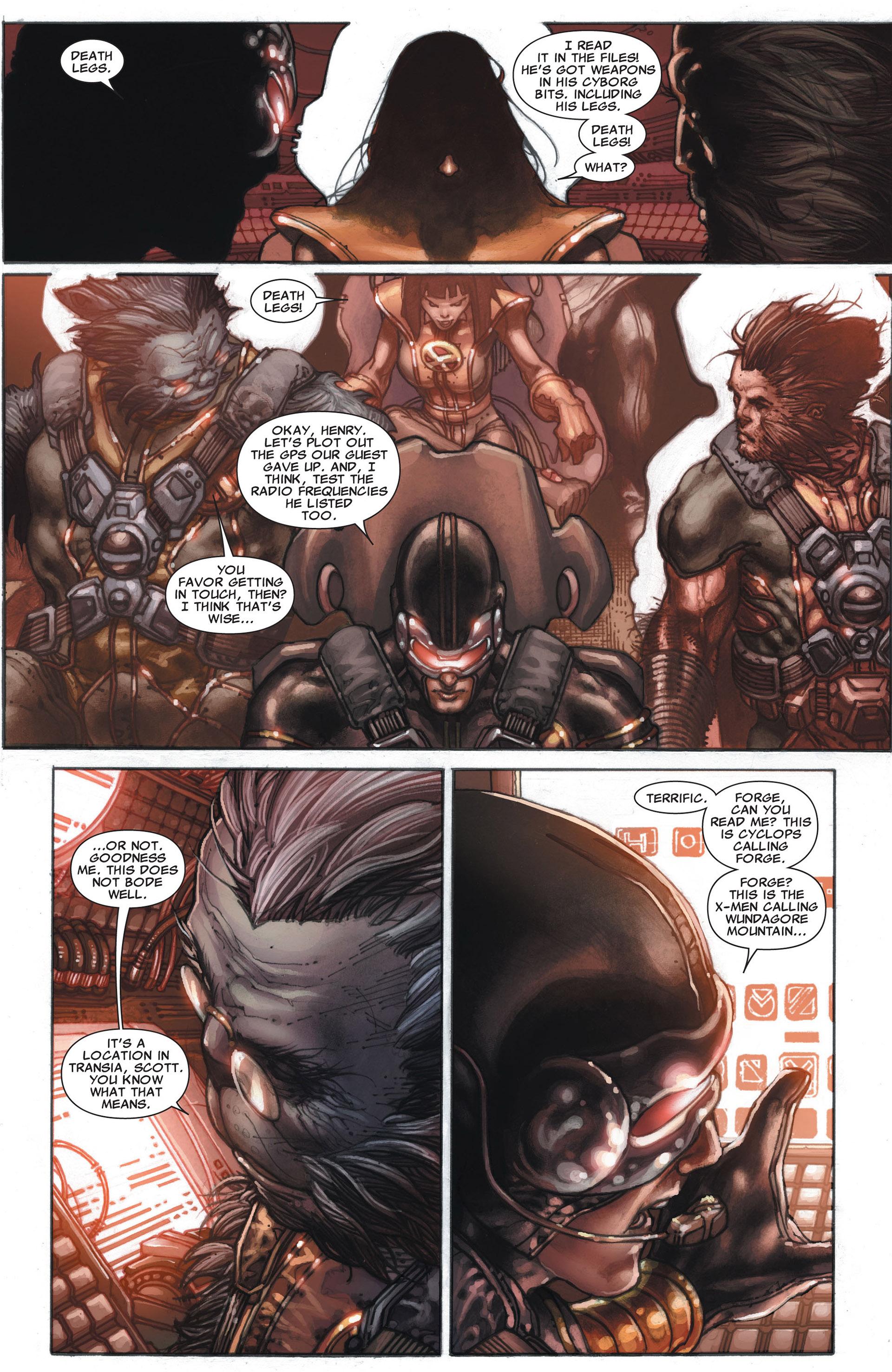 Read online Astonishing X-Men (2004) comic -  Issue #29 - 17