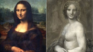 Monalisa's Nude Sketch found in France