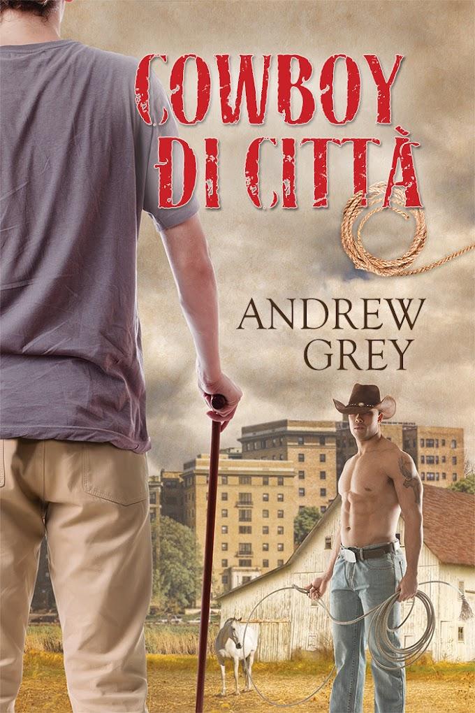 """Libri in uscita: """"Cowboy di città"""" di Andrew Grey"""