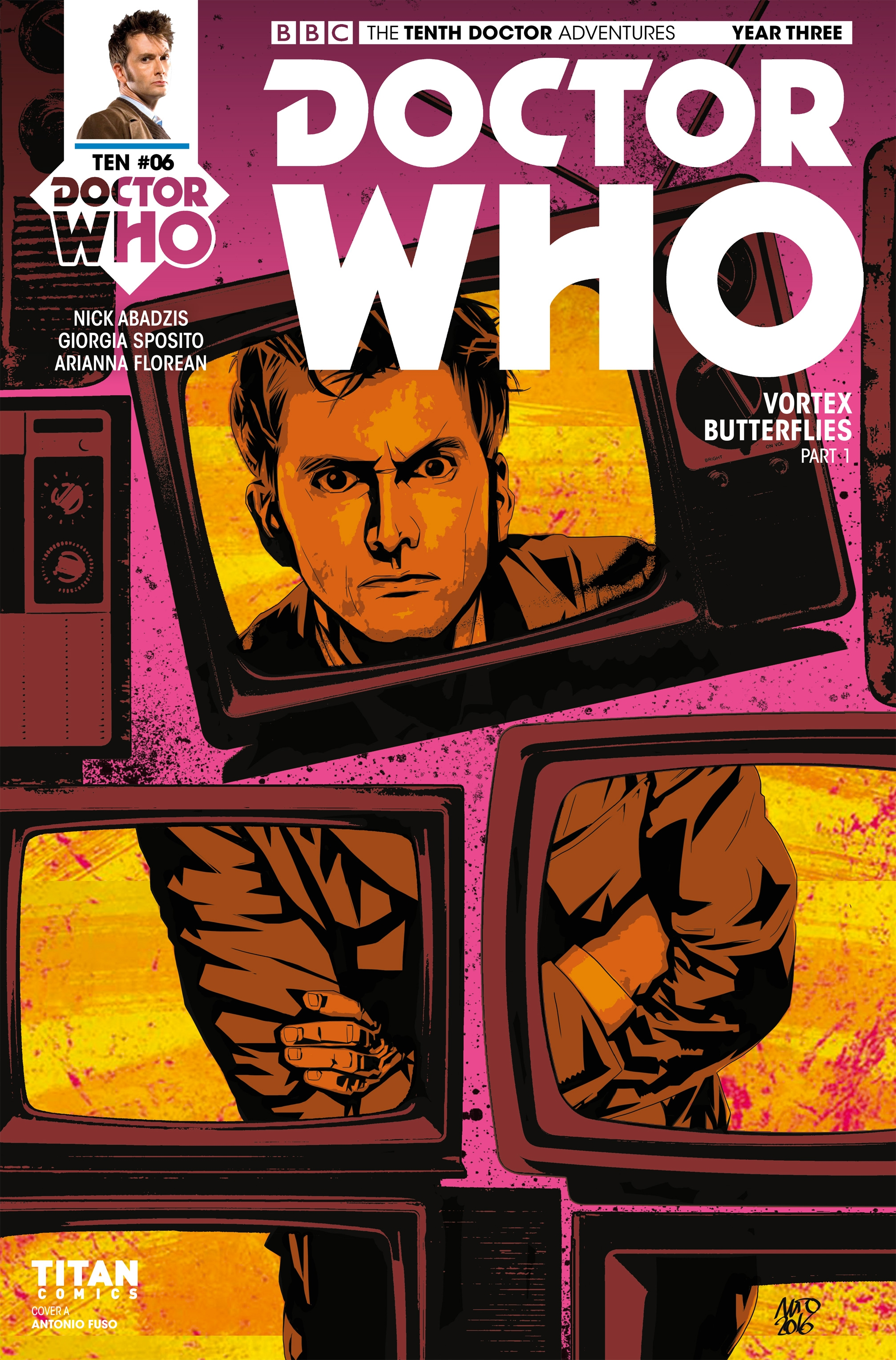 Read online Doctor Who: The Tenth Doctor Year Three comic -  Issue #6 - 1