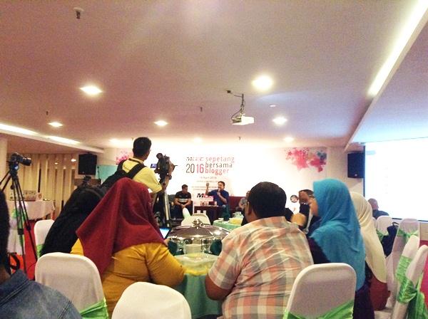 majlis sepetang bersama blogger 2016