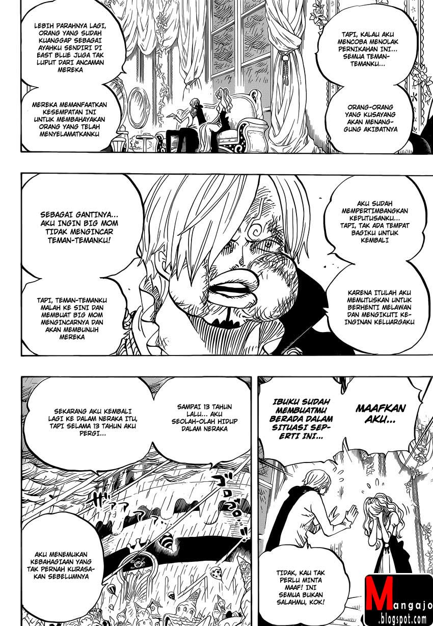 Baca One Piece Baru Indo 845 dan spoiler One Piece 846