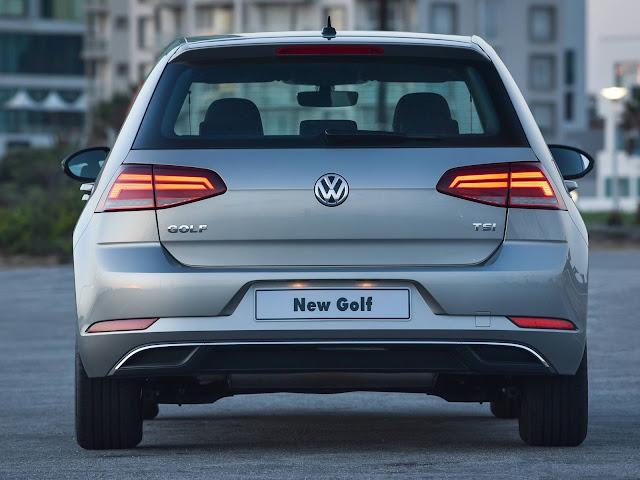 Novo VW Golf 200 TSI 2018